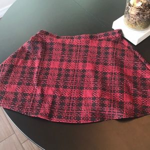 Wet seal Red skirt size Medium